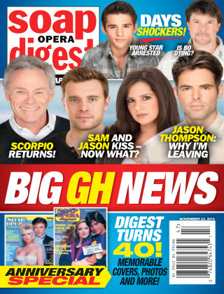 Soap Opera Digest Issue 47, 2015
