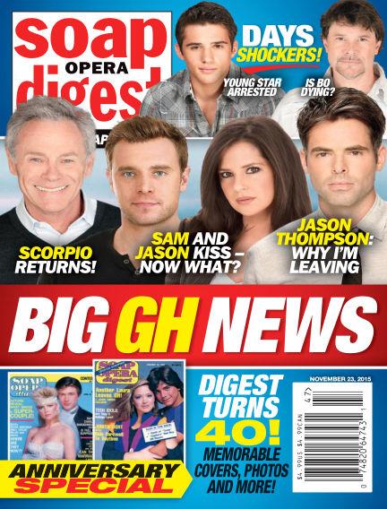 Soap Opera Digest November 13, 2015 00:00