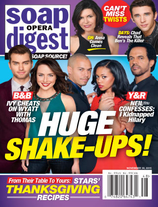 Soap Opera Digest Issue 48, 2015