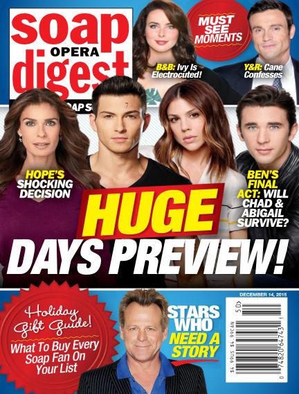 Soap Opera Digest December 04, 2015 00:00