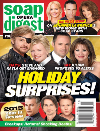 Soap Opera Digest Dec 28 2015