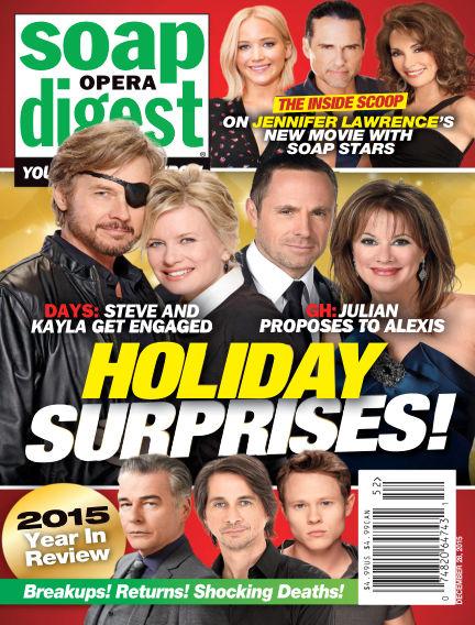 Soap Opera Digest December 18, 2015 00:00