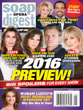 Soap Opera Digest Jan 4 2016