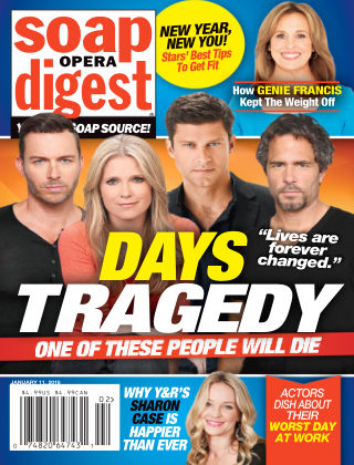 Soap Opera Digest Jan 11 2016