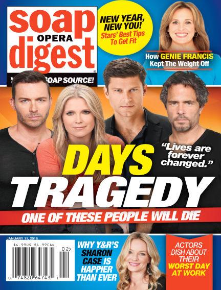 Soap Opera Digest January 01, 2016 00:00