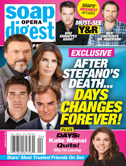 Soap Opera Digest January 15, 2016 00:00