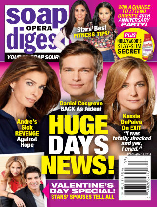 Soap Opera Digest Feb 15 2016