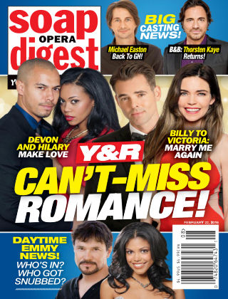 Soap Opera Digest Feb 22 2016