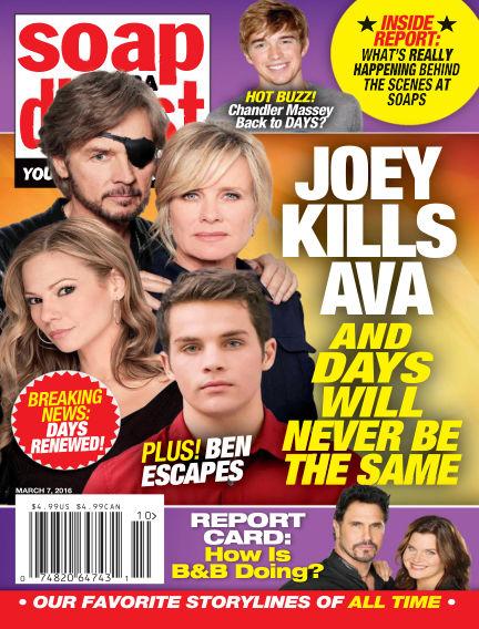 Soap Opera Digest February 26, 2016 00:00