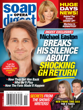 Soap Opera Digest Mar 14 2016