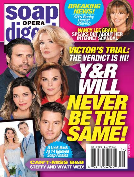 Soap Opera Digest March 25, 2016 00:00