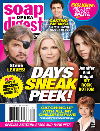 Soap Opera Digest Apr 25 2016