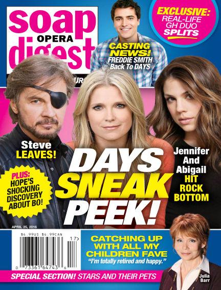 Soap Opera Digest April 15, 2016 00:00
