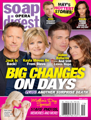 Soap Opera Digest May 9 2016