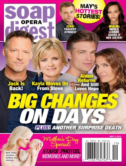 Soap Opera Digest April 29, 2016 00:00