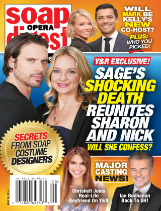 Soap Opera Digest May 16 2016