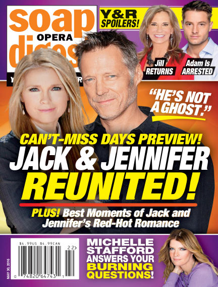 Soap Opera Digest May 20, 2016 00:00