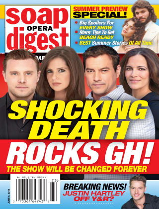 Soap Opera Digest Jun 6 2016