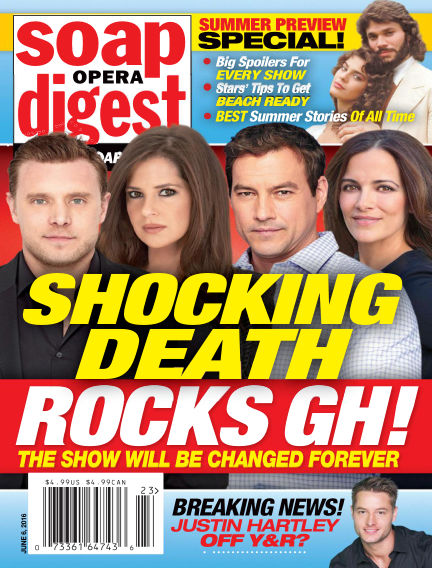 Soap Opera Digest May 27, 2016 00:00
