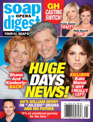 Soap Opera Digest Jun 20 2016