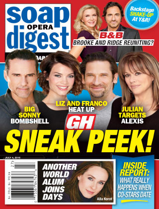 Soap Opera Digest Jul 4 2016