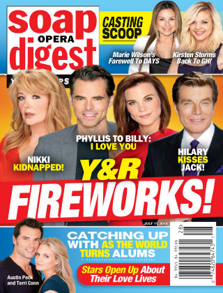 Soap Opera Digest Jul 11 2016