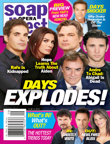 Soap Opera Digest July 08, 2016 00:00