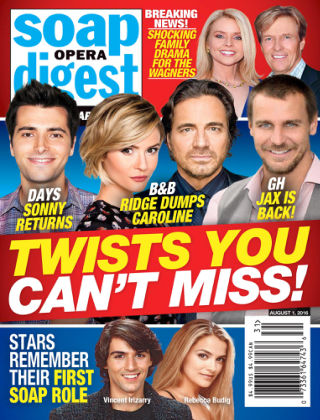 Soap Opera Digest Aug 1 2016