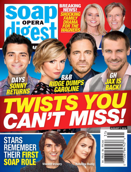 Soap Opera Digest July 22, 2016 00:00