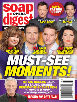 Soap Opera Digest Aug 8 2016