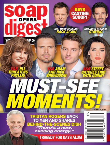 Soap Opera Digest July 29, 2016 00:00