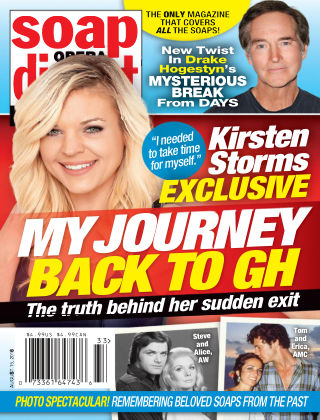 Soap Opera Digest Aug 15 2016