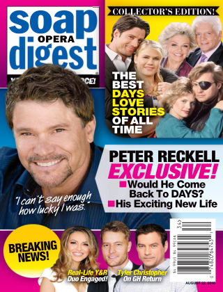 Soap Opera Digest Aug 22 2016