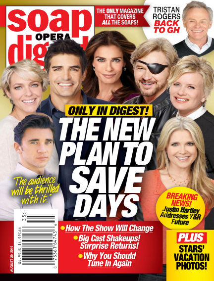 Soap Opera Digest August 19, 2016 00:00