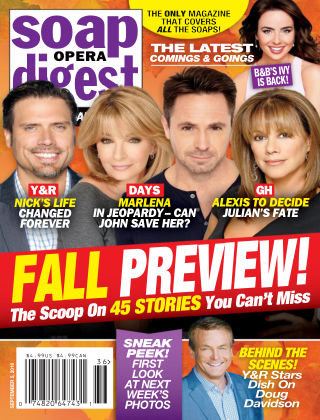 Soap Opera Digest Sep 5 2016