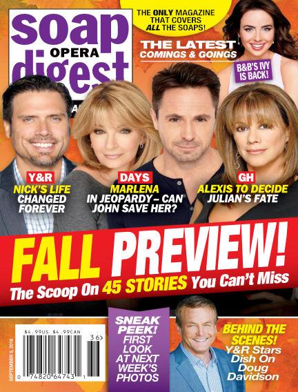 Soap Opera Digest August 26, 2016 00:00