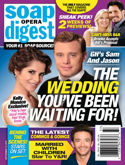 Soap Opera Digest September 02, 2016 00:00