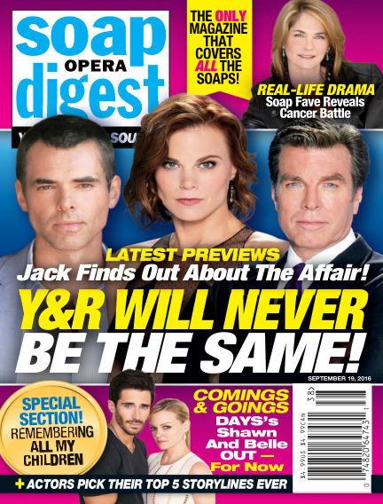 Soap Opera Digest September 09, 2016 00:00