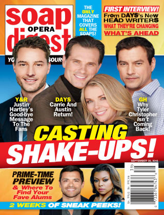 Soap Opera Digest Sep 26 2016