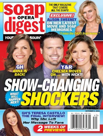 Soap Opera Digest September 23, 2016 00:00
