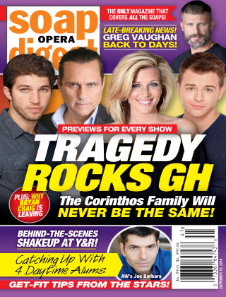 Soap Opera Digest Oct 10 2016