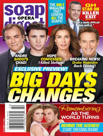 Soap Opera Digest October 07, 2016 00:00