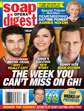 Soap Opera Digest Oct 24 2016