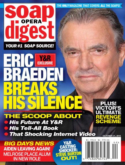 Soap Opera Digest October 21, 2016 00:00
