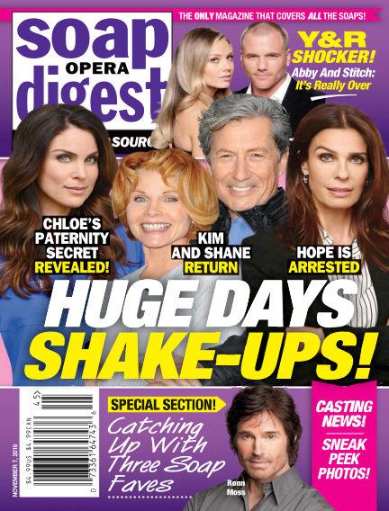 Soap Opera Digest October 28, 2016 00:00