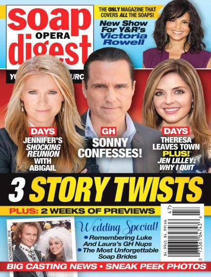 Soap Opera Digest November 11, 2016 00:00