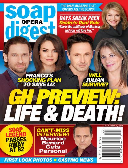 Soap Opera Digest November 25, 2016 00:00