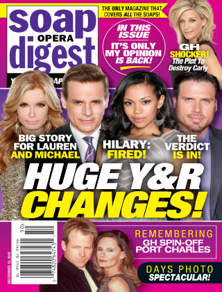 Soap Opera Digest Dec 12 2016