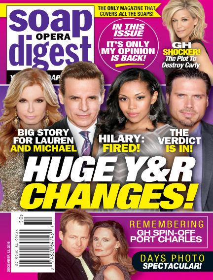 Soap Opera Digest December 02, 2016 00:00
