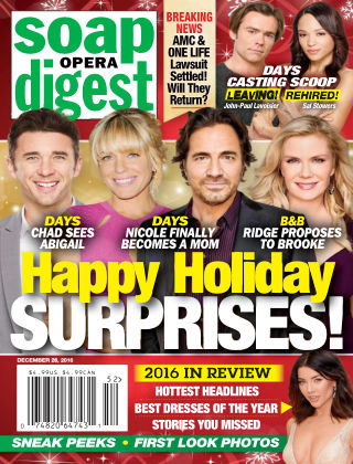 Soap Opera Digest Dec 26 2016